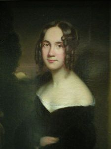 Sarah in portrait, decades before The Bobble was even a thought