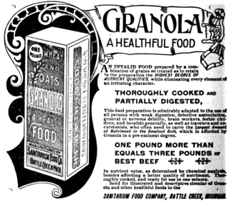 Kellog's Granola 1893