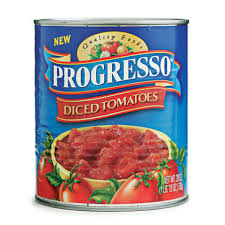 Progresso canned tomato