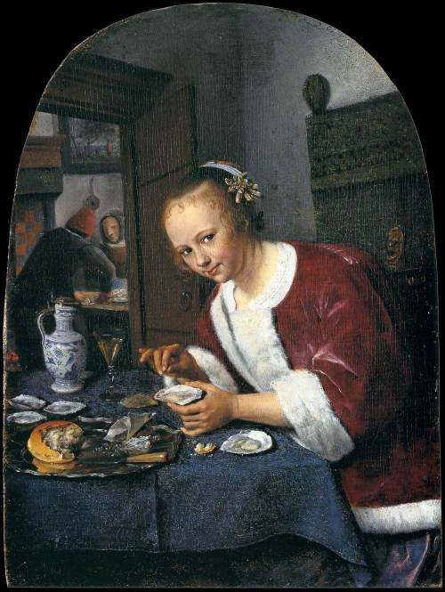 Jan Steen The Oyster Eater
