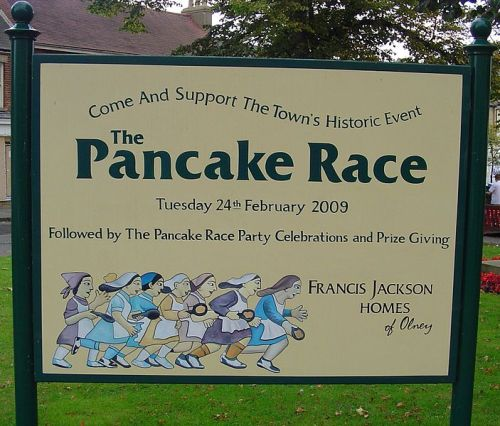 Pancake Day Race 2009