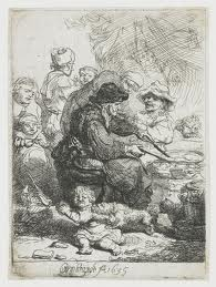 Pancake Woman by Rembrandt
