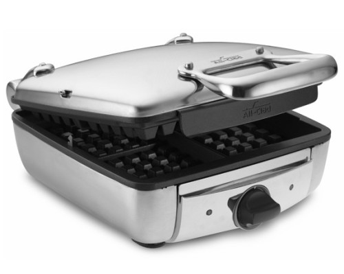 This waffle iron is a beaut - but at 200 bucks...I won't eat 200 dollars worth of waffles in my lifetime!