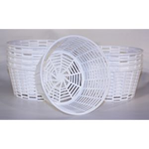 Ricotta draining baskets - you could invest or you could improvise....