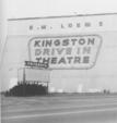 The Kingston Drive In Theatre - c. 1977. I was there then.
