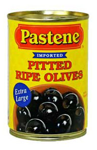 Pastene_pitted_black_olives