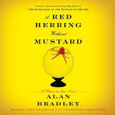 Red Herring without Mustard - Alan Bradley - a Flavia
