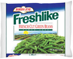 French cut beans