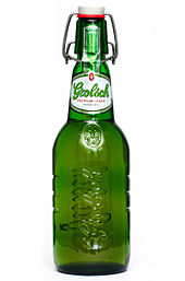 Grolsch Beer  - Dutch beer from a brewery founded in 1615 - a little history in a little bottle