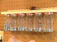 nails in a jar