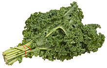 Kale - this is the curly kind
