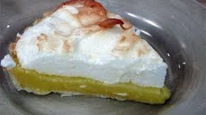When I went to England, the filling was more like lemon curd and the meringue wasn't as mile high as back home.