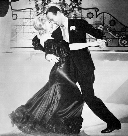Fred Astaire and Ginger Rogers Flying Down To Rio
