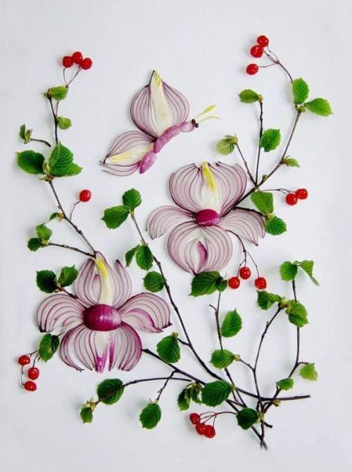 onion art