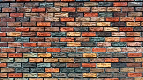 This is brick wall wall paper. At one point we had texture brick wall paper in the kitchen....and it was wicked cool. Until it started getting dented....