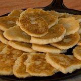 Johnnycakes from the Kenyon Mills Facebook page - they way they like 'em in Rhode Island