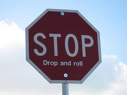 stop sign drop