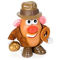 Mr Potato Head as Indiana Jones with a JACKET