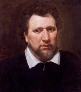 Benjamin Jonson by Abraham van Blyenberch