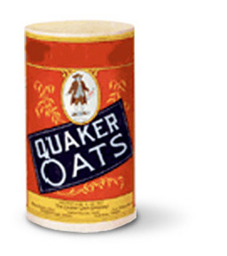Quaker went to the round box in 1915 - how were they selling oats before that?????