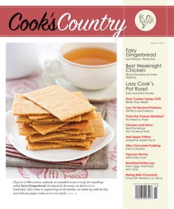Fairy Gingerbread is the cover story.....that's those graham cracker looking things. Not a loaf after all!