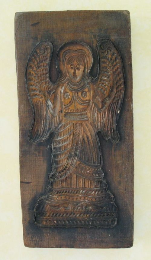 Gingerbread angel mold - 17th century