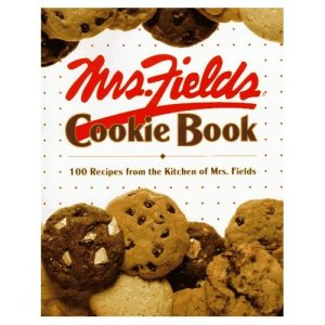 I don't remember how I came to have this book, I just know that I do. And I've baked cookies from it. And have not-baked  from it. Mrs. Fields Cookie Book 100 recipes from the Kitchen of Mrs. Fields 1992 from Time-Life Books