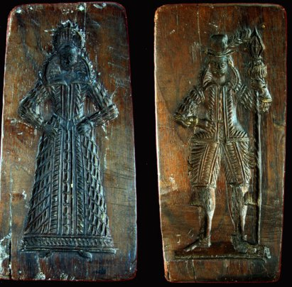 Stuart gingerbread molds - 17th century