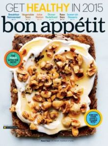Bon Appetit January 2015 New Years Cleanse and Big Batch cooking