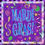 mardi gras sign