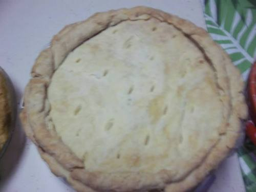 Parsnip Pie - minus the 21st century pan  - contender for Pi Day 1624
