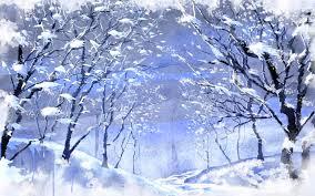 snow forrest 1440x900