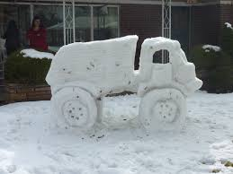 This would be a much quieter snow truck, but this truck has not been in my neighborhood.