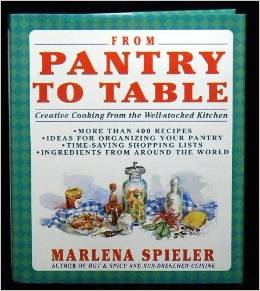 Marlena Speiler's From Pantry t Table  - helped me feed my boy and keep my sanity  back in the '90's...and now for those carrots I have to use soon....