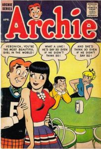 Archie, Betty and Veronica - even Reggie - evidently they're based on locals - who knew????