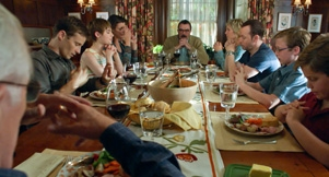 Bluebloods, the Regan clan gathered round the dinner table