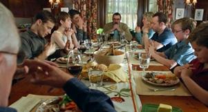 Bluebloods, the Regan clan gathered round the dinner table