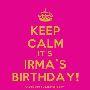 Irma B day