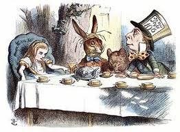 Tea Party Alice Tenniel