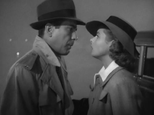 Bogart. Bergman Casablanca
