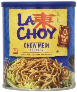 Back in the day, Chinese noodles meant one thing - THESE things. Now, there's quite a variety of noodles called Chinese