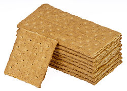 Graham crackers are also very good - Today is National Graham Cracker Day, too