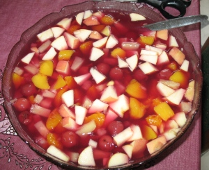 Fruit in fruit salad