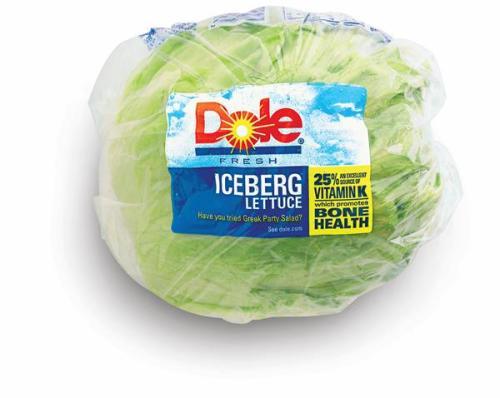 iceberg lettuce Dole