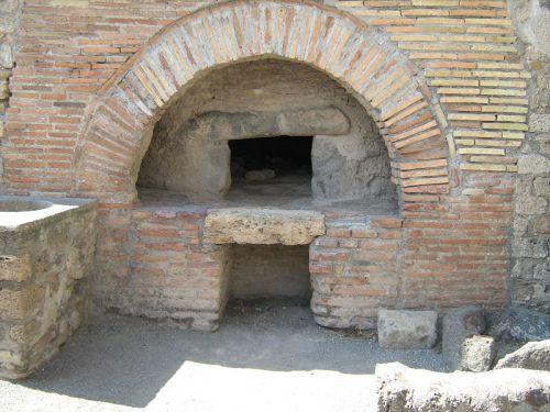 Pompeii-Oven