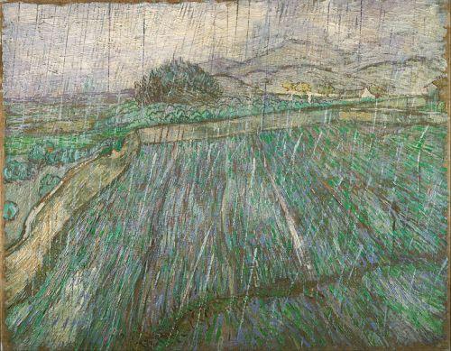 Rain - Vincent Willem van Gogh
