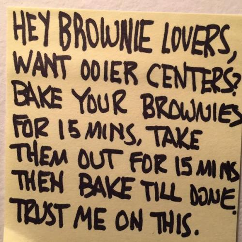 ABbrownie message