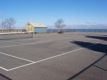 StephensField tennis courts