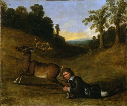 sprin 17th c_man_with_stag