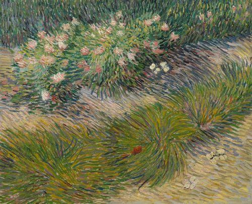 vangogh april31888GrassNbutterflies